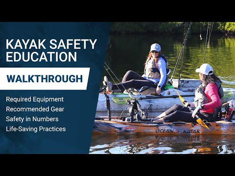Kayak Safety Pt. 2: Equipment, Education & Safety Practices