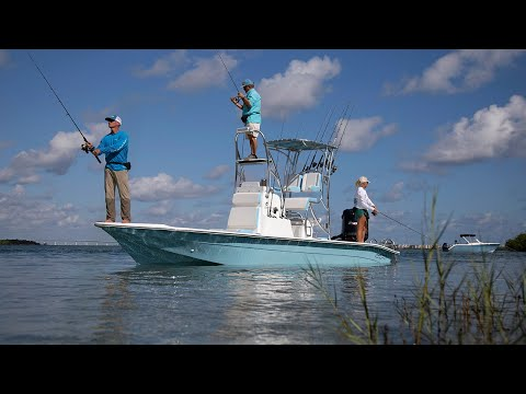 Shallow Sport 24 MOD V - Modified V Merges with a Tunnel Hull | Florida Sportsman