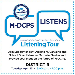 MDCPS Listening Tour with District 9