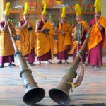 Tibetan monks with horns Florida CraftArt st petersburg