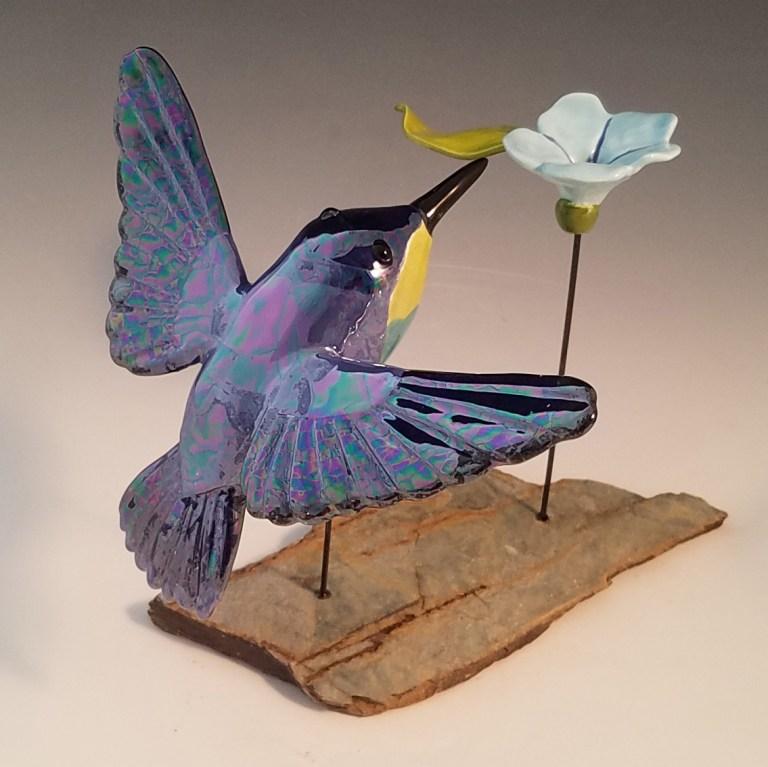 Alicia Diem Flying Jewel Blue