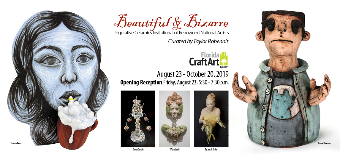 Beautiful Bizarre figurative exhibition florida craftart