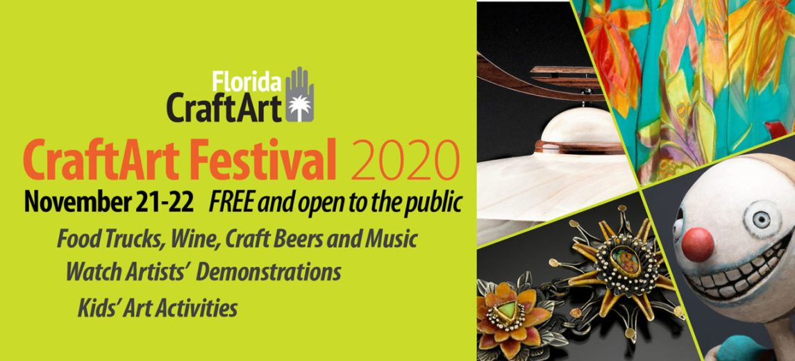 CraftArt 2020 craft art festival web header