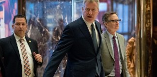 New York City Mayor Tells Trump About Fear Over his Policies