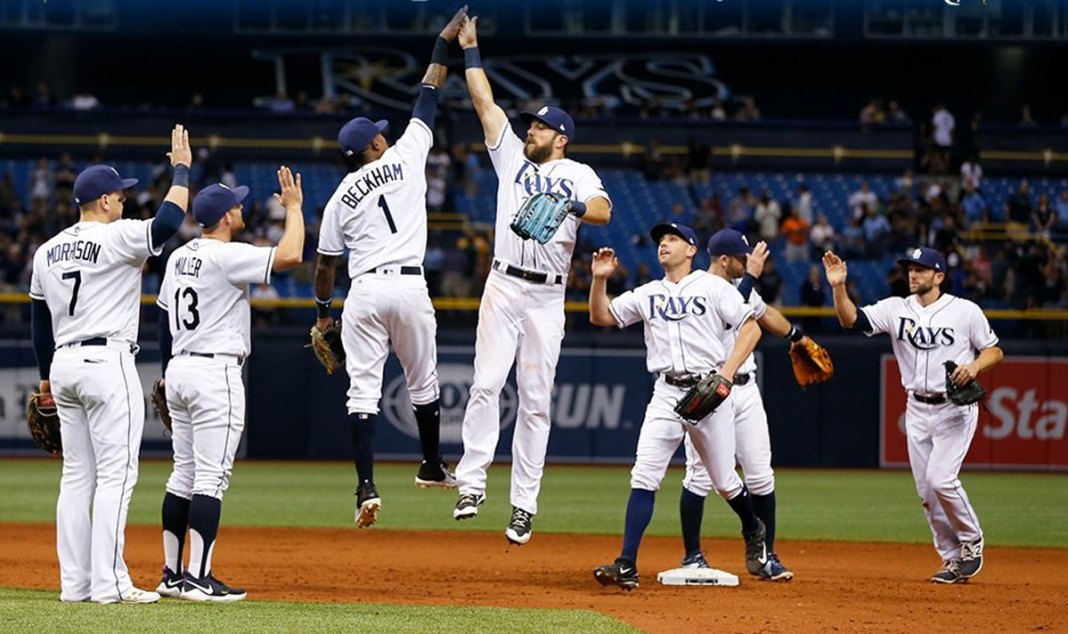 Beckham, Rays Rally to Beat Astros 6-3