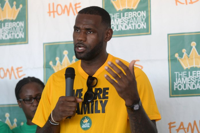 LeBron James to Open Public School for At-Risk Kids