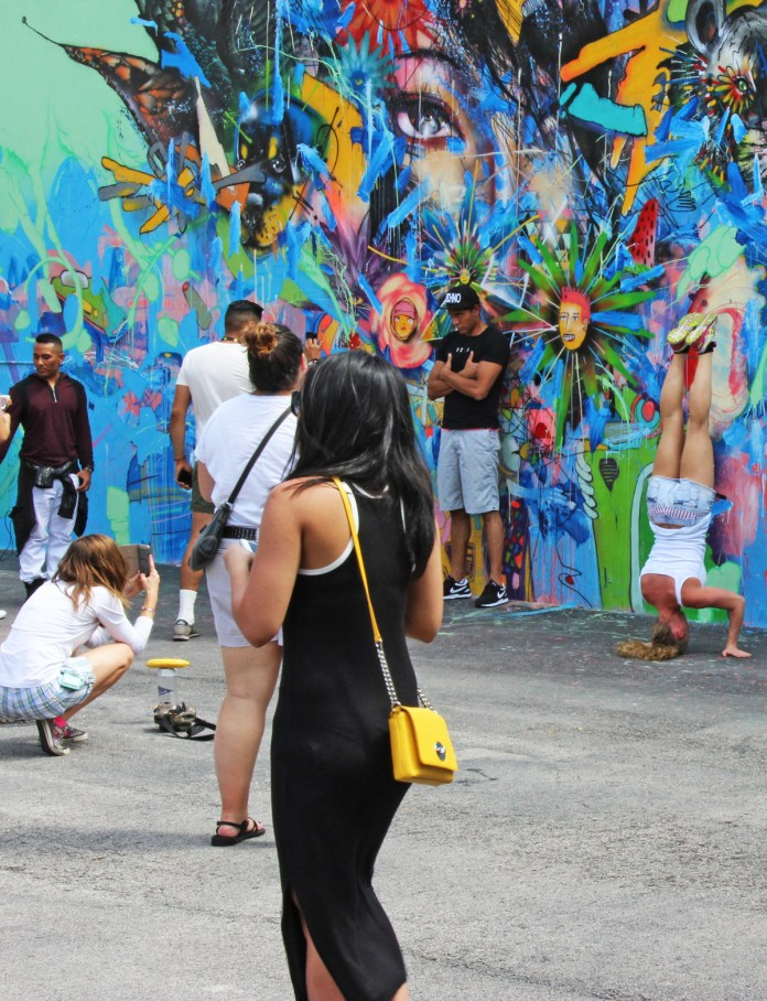 David Choe Mural for Wynwood Walls: Nothing Lasts Forever