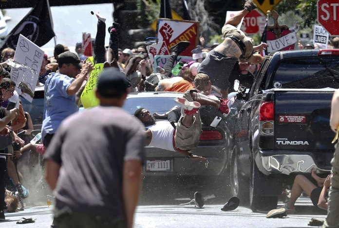 Ryan Kelly's photograph of Charlottesville rally riot