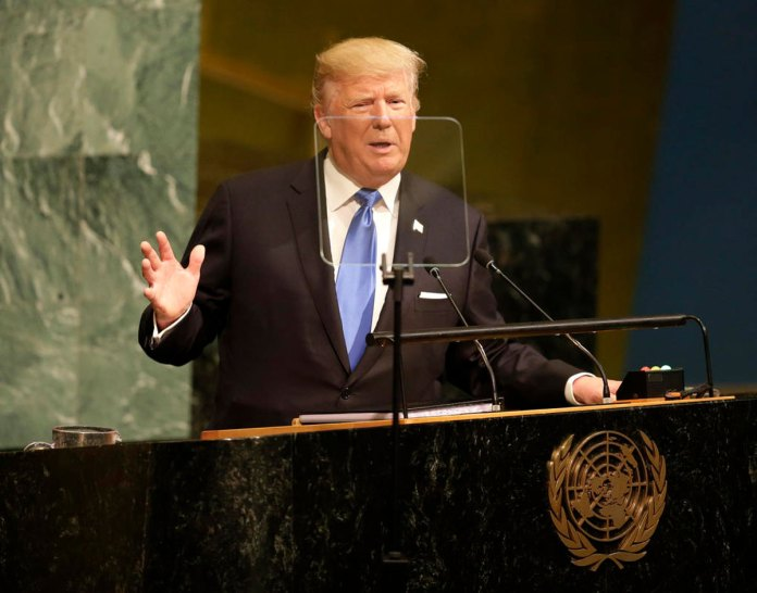 President Trump Debut Speech to the U.N. General Assembly