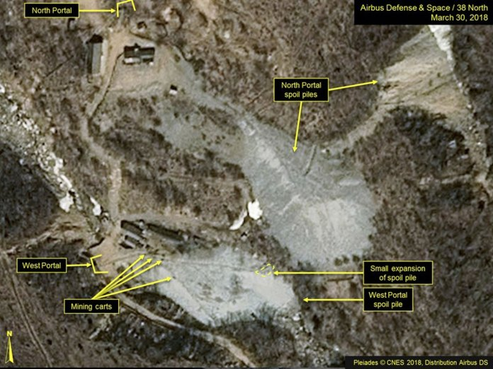 North Korea Will Dismantle its Nuclear Test Site Ahead of Summit