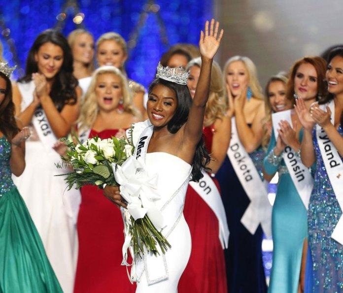 Miss New York Nia Imani Franklin Wins Miss America Crown