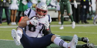The England Patriots not Quite at Super Bowl Level
