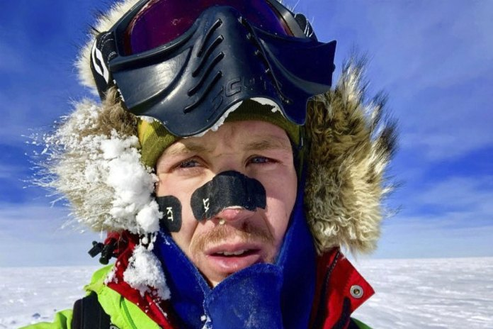 American Man First to Solo Across Antarctica Unaide