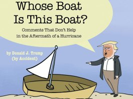"""Trump Spoof Book: """"Whose Boat Is This Boat"""