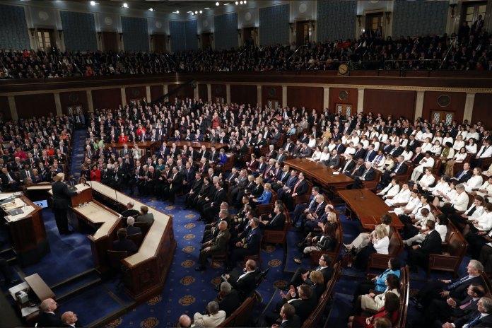 In SOTU Address, Trump Calls for End of Resistance Politics