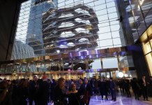 $25 Billion Hudson Yards Development Opens in New York