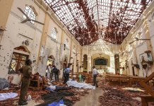 Local Militants Carried out Sri Lanka Attacks