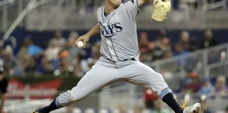 7 Rays Pitchers Combine to Hand Miami 7th Straight Loss