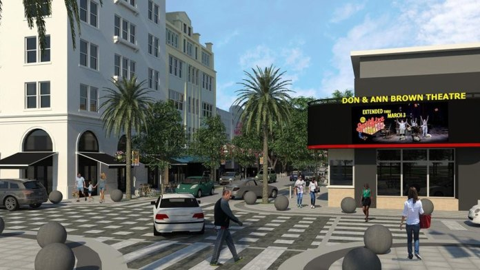 Phase II of Clematis Streetscape Project Underway