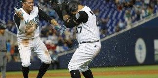 Marlins rally in ninth inning to defeat Diamondbacks 3-2
