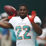 Dolphins Release Running Back Walton after Arrest for Hitting Girlfriend
