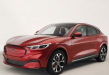 "Ford Unveiled its First All-electric SUV, the ""Mustang Mach E"""