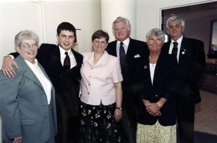 Pete Buttigieg Aimed High Early - Pete in 2000