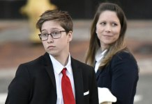 Court to consider bathroom use by transgender student
