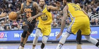 Fournier Scores 32, Leads Magic over Warriors 100-96