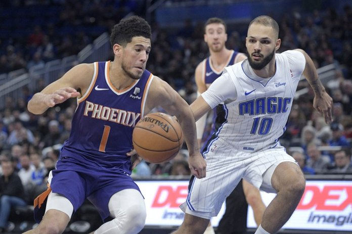 Gordon Scores Season-high 32 Points, Magic Beat Suns 128-114
