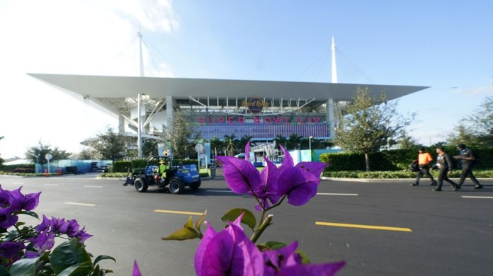 The Glitz of Super Bowl Heads to a Blue-collar Part of Miami