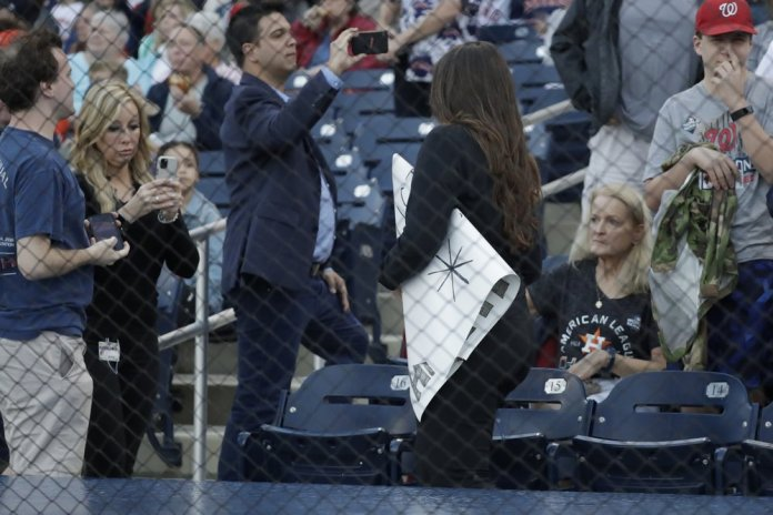 Astros Spring Opener Welcomed by Fans Heckling and Rain