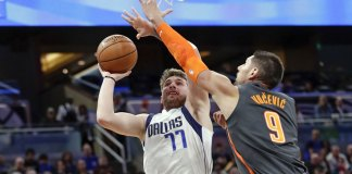 Doncic, Mavericks Notch Another Road Win, 122-106 at Magic