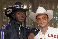 Super Bowl 54 Miami Diplo and rapper Lil Nas X