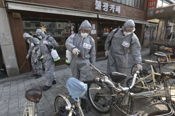 Virus Hits 100,000 Cases as it Upends Lives, Livelihoods south korea