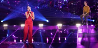 Allegra Miles wins the Voice's Knockout Round