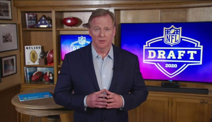 The NFL delivers draft when it matters most