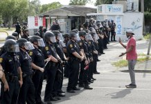 A country convulsed by violent protests coast-to-coast