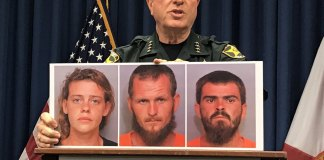 2 brothers, girlfriend arrested in triple homicide