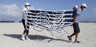 Hurricane Isaias lashes Bahamas, virus-hit Florida braces
