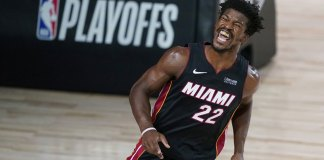 Butler, Dragic help Heat pull away to beat Pacers in Game 1