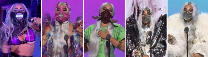 Three faces of Gaga