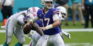 Allen reaches career high in passing, Bills beat Dolphins