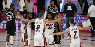 Jimmy Butler wins it at buzzer, Heat top Bucks 116-114
