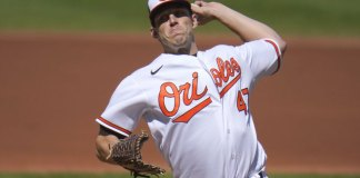 Means strikes out 12; Orioles halt Rays' surge with 2-1 win