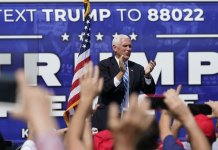 Pence rallies Hispanics in Miami with Trump's anti-socialist record