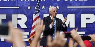 Pence rallies Hispanics in Miami with Trump's anti-socialist record