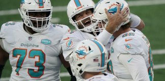 Fitzpatrick, Dolphins keep Jets winless with 20-3 victory