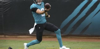 Jake Luton's 1st NFL start for Jaguars won't be last or best