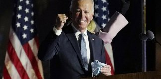 Joe Biden defeats Donald Trump to become the 46th president